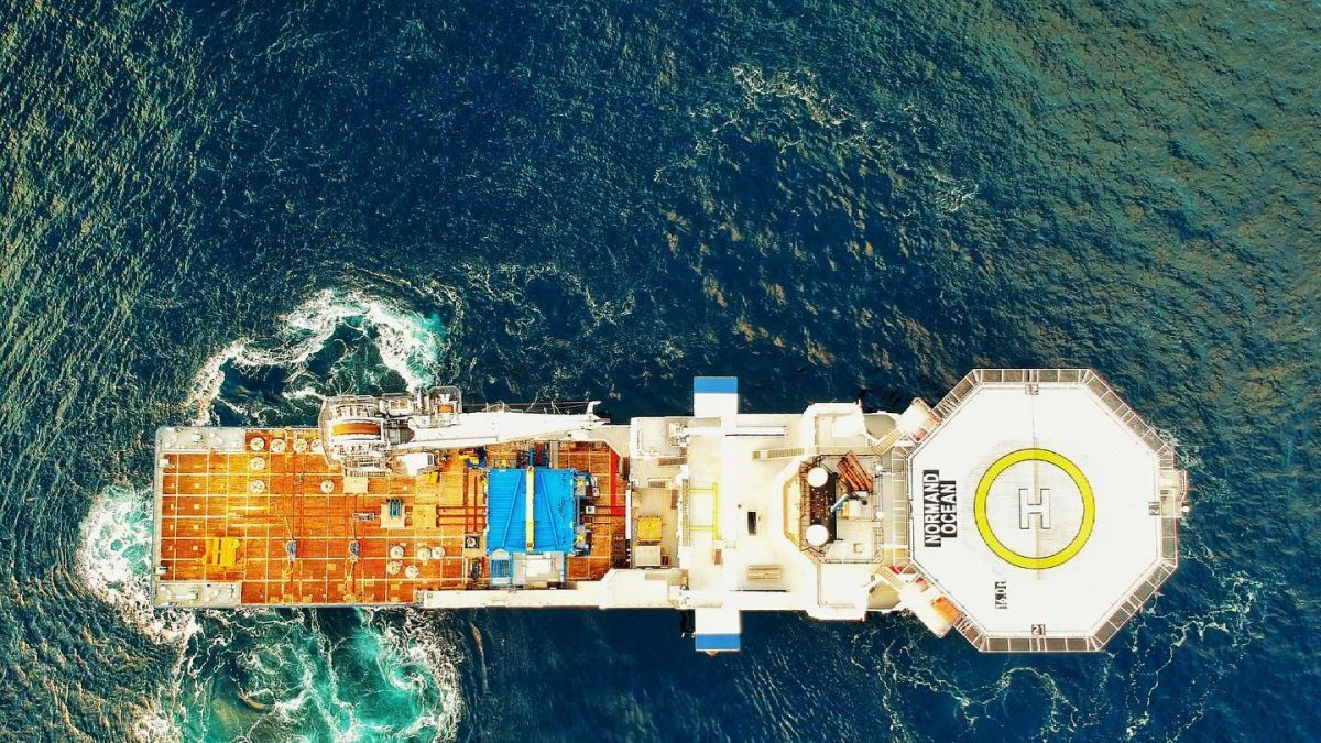 A collaboration between DeepOcean and Solstad would see hydrogen fuel cells installed in Normand Ocean (source: DeepOcean)