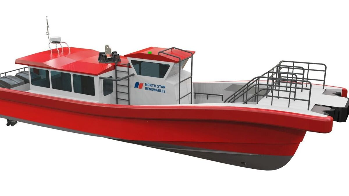 UPDATED: North Star service operation vessels to have world-first hybrid daughter craft
