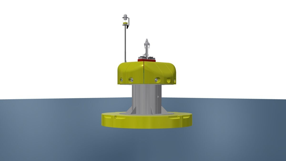 Oasis Marine Power says its buoy is designed to be easy to use and to maintain