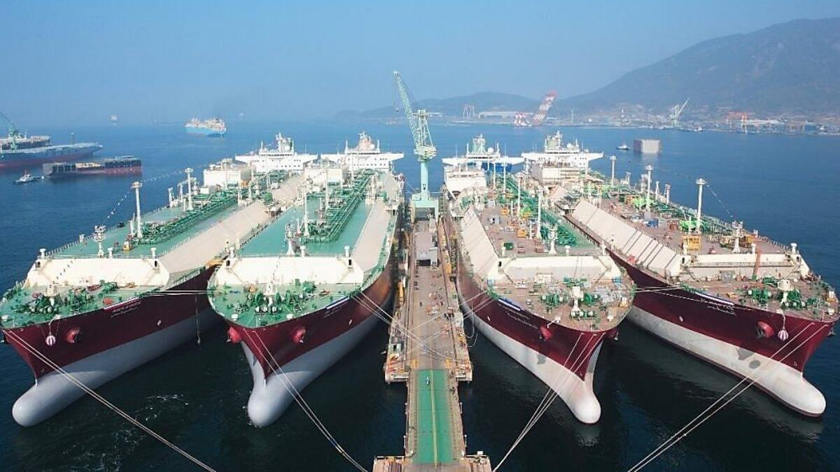 Shell has chartered six newbuild LNG carriers (Source: Shell)