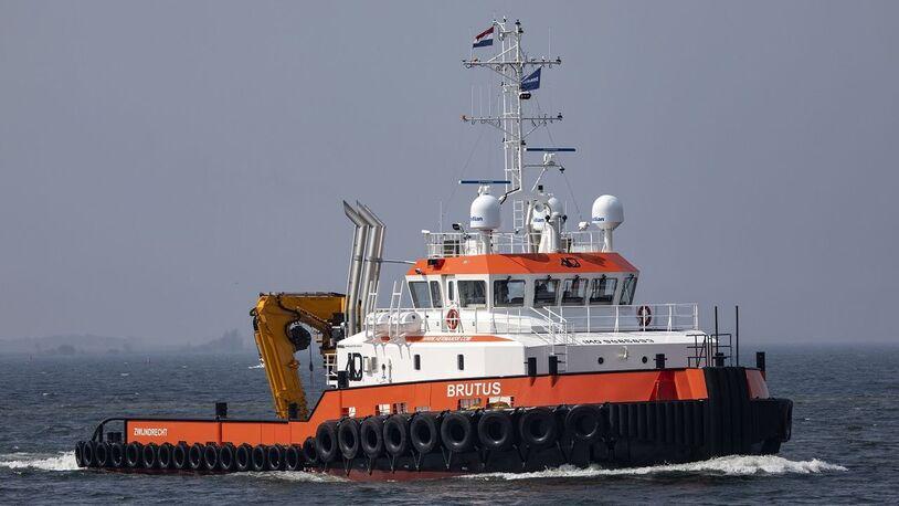 Herman Sr welcomes first hybrid propulsion DP2 vessel