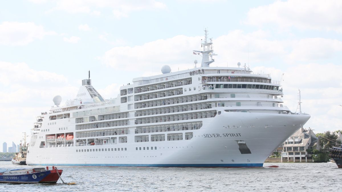 Silversea's Silver Spirit became the first ultra-luxury cruise ship to sail with CIP-M (source: DNV)