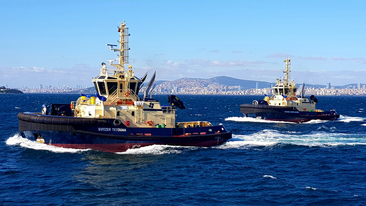 The new time charter agreement expands Svitzer's global towage footprint, and includes hiring local seafarers (source: Svitzer)