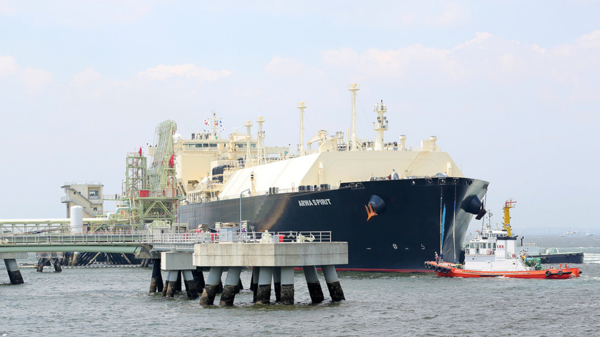 Total Energies has one of the world's largest LNG portfolios (source:Zamora Philippe/Total)