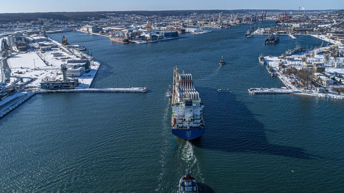 Port of Gdynia a potential pre-assembly site for Baltic offshore windfarms
