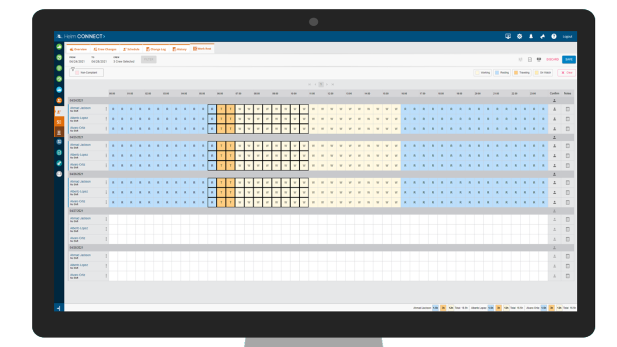 The Work Restmodule is one of several new products launched by Helm Operations (source: Helm Operations Software)