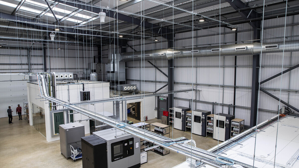 DMC is expected to be an integral part of the UK's advanced engineering supply chain (source: DMC)