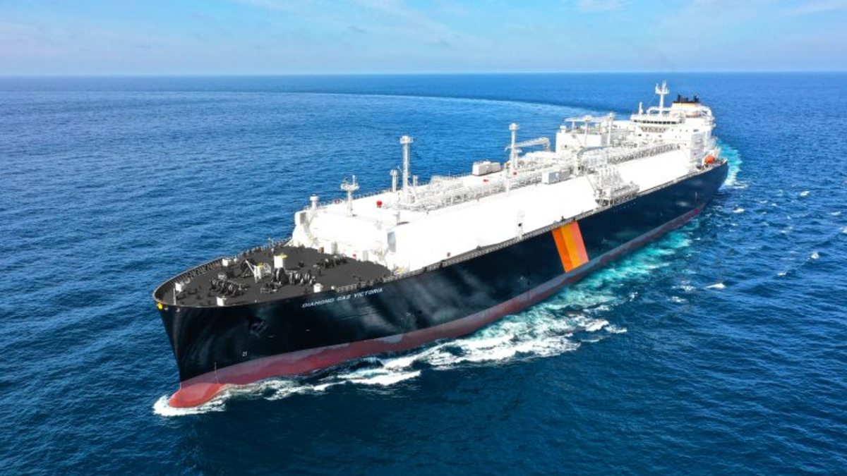 Another X-DF-propelled LNG carrier delivered for LNG Canada project