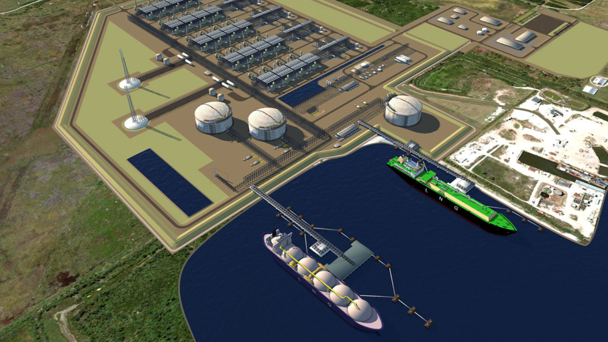 Plans for the multi-phase Driftwood LNG project call for a total capacity of 27.6 mta of LNG, making it one of the world's largest LNG export facilities (source: Tellurian)