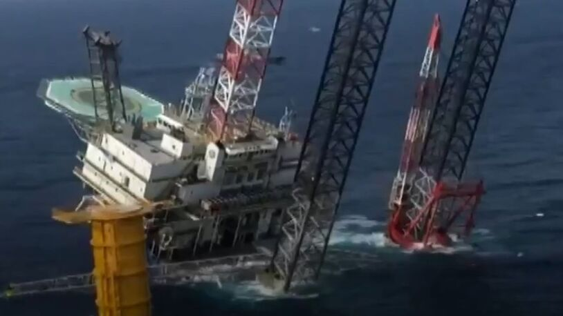 Salvage required for listing Chinese offshore liftboat, four still missing