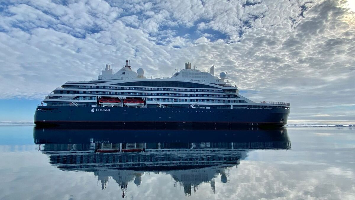 LNG-powered Le Commandant Charcot delivered to Ponant