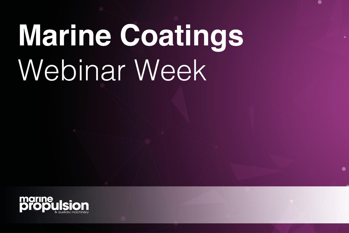 Marine Coatings Webinar Week