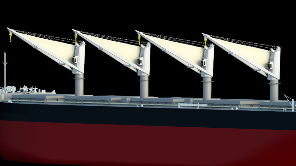 How dry bulk carriers can harness wind to decarbonise