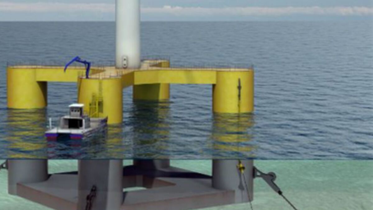 Subsea 7 acquires floating wind expertise with Nautilus foundation concept
