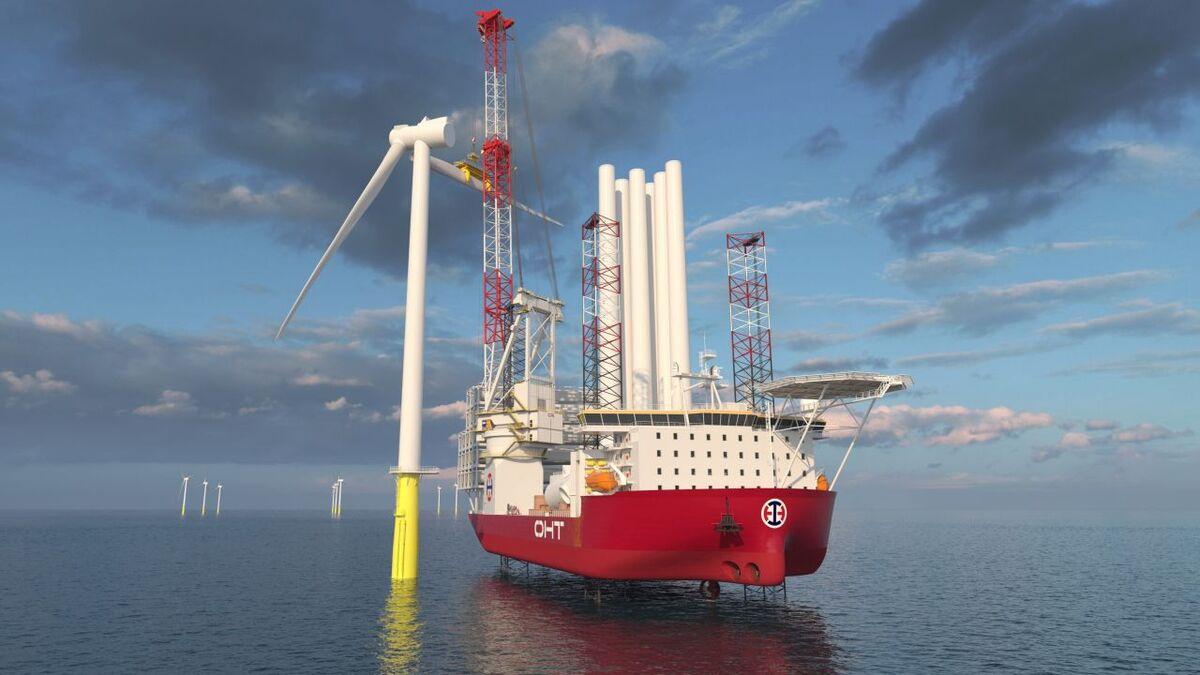 OHT's turbine installation vessel is being built at China Merchants Heavy Industry in Jiangsu, China (source: Wärtsilä)