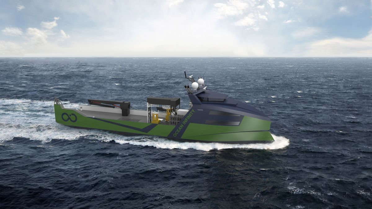 Ocean Infinity will operate remotely controlled vessels in its Armada fleet