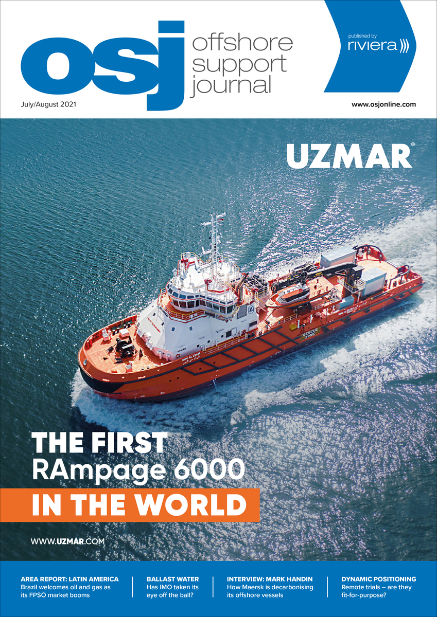 Offshore Support Journal July/August 2021