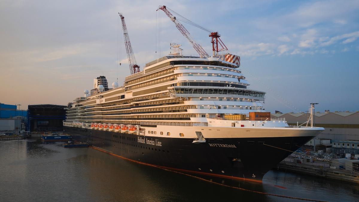 The third ship in the Pinnacle class, Rotterdam will begin cruising the Caribbean in Q4 2021  (source: Fincantieri)