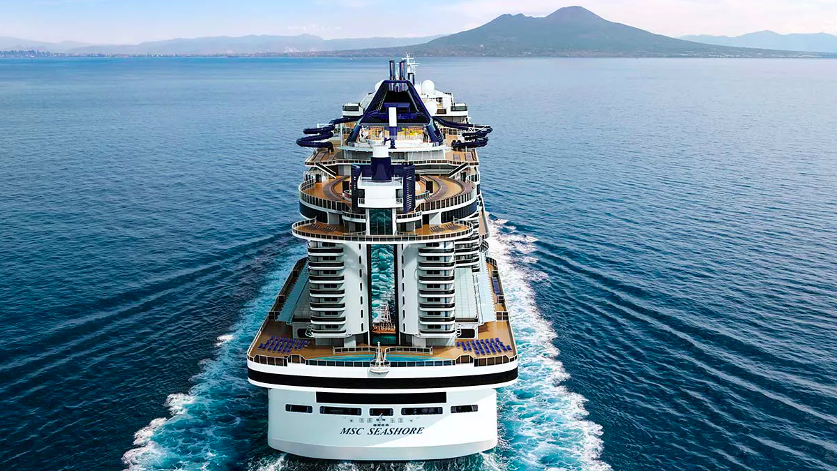 MSC takes delivery of Seashore, bringing its fleet to 19 ships
