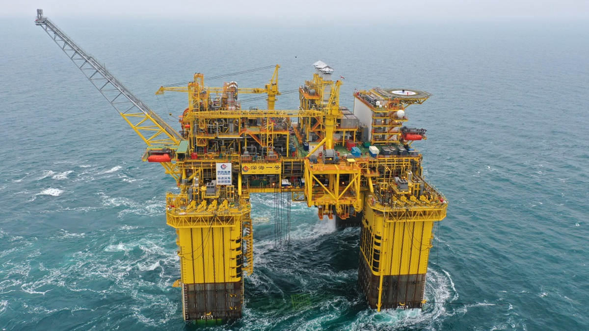 World's first ultra-deepwater FPSO 'giant step forward' for China offshore