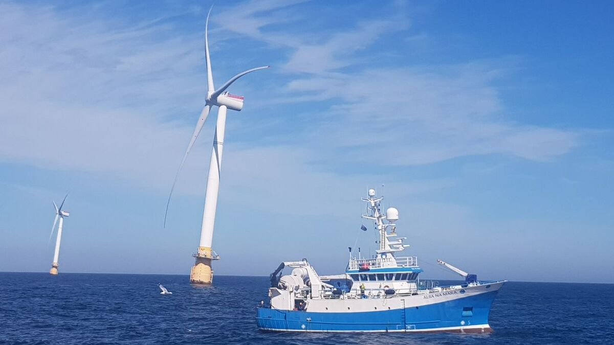 Equinor and Marine Scotland to test safe fishing techniques in floating windfarms