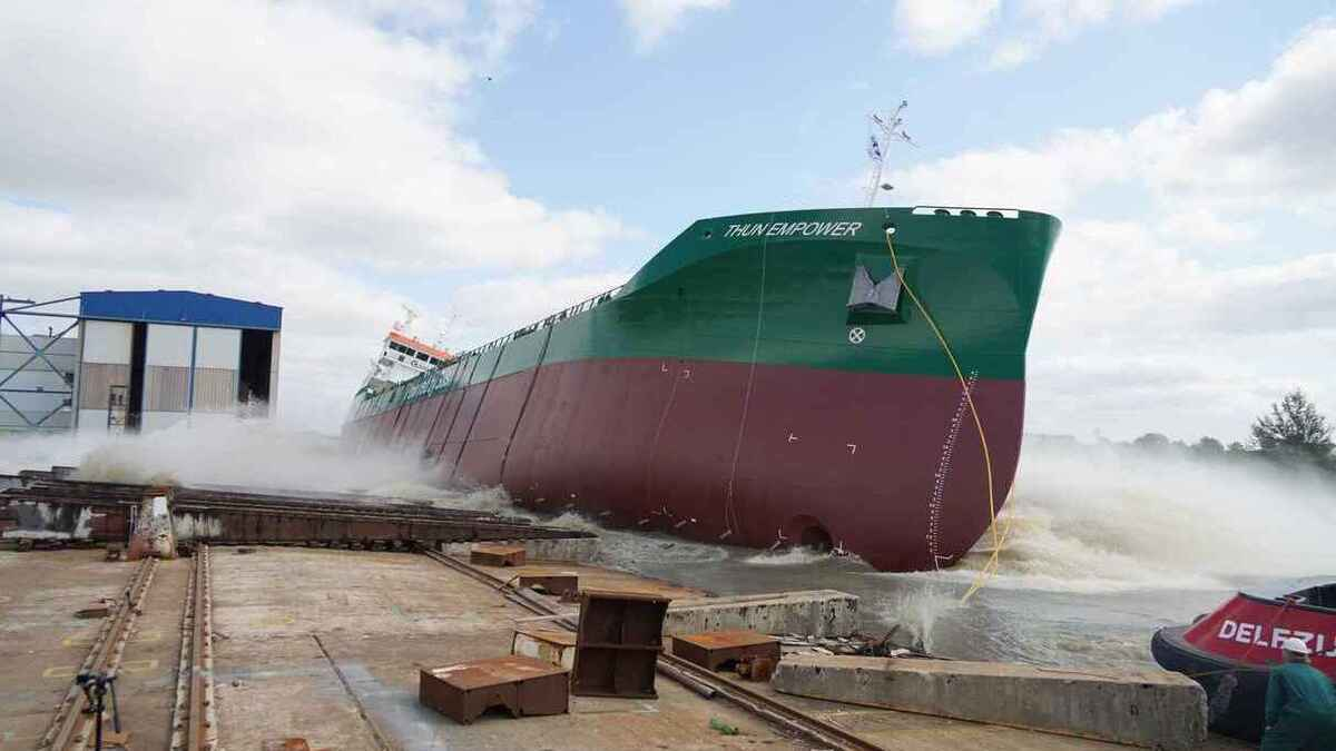 Thun Tankers launches gas-powered product tanker