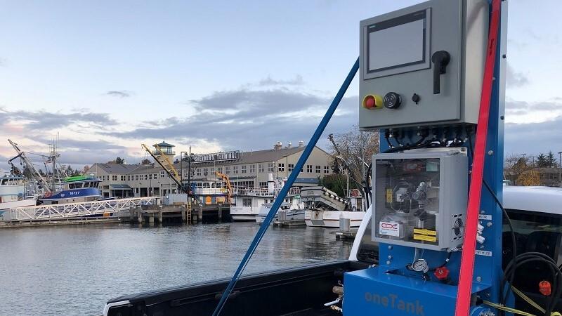 Solving the aftpeak tank ballast water challenge