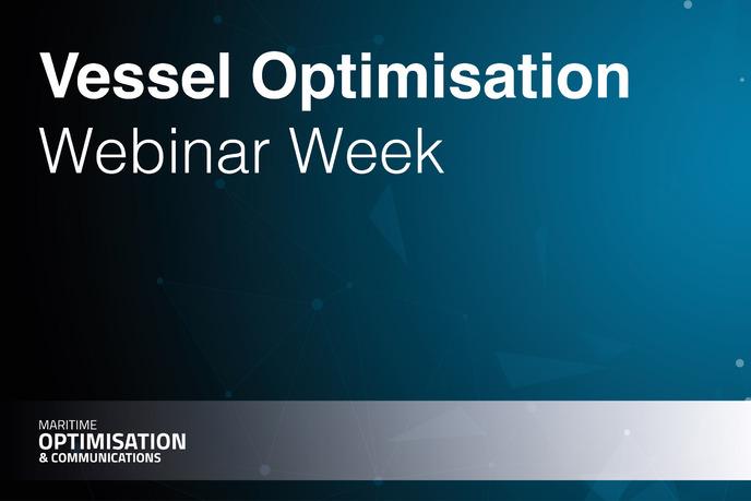 Vessel Optimisation Webinar Week