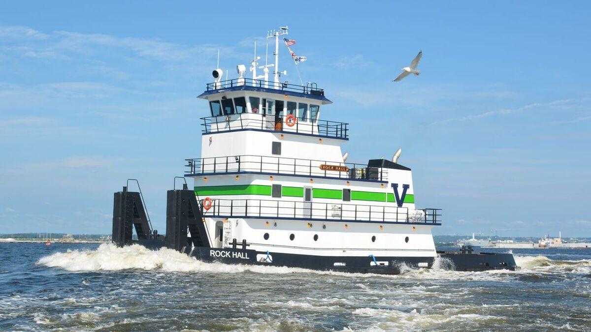 Vane Brothers tug Rock Hall was built by Chesapeake Shipbuilding (source: Vane)