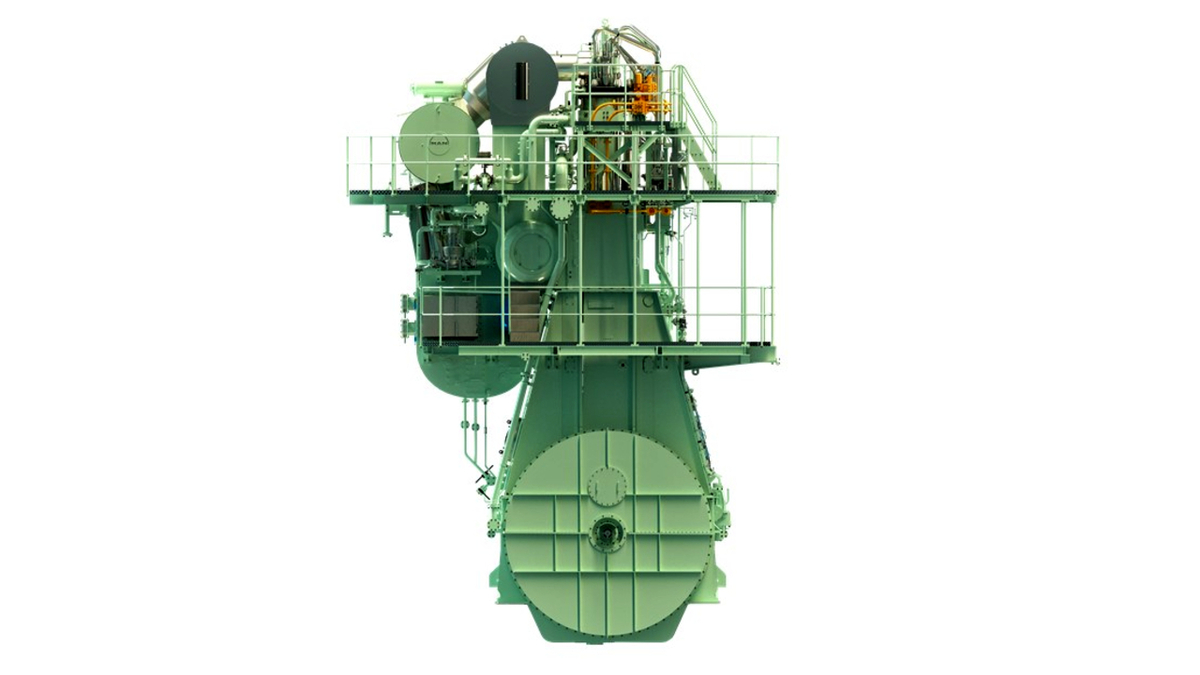 The MAN ME-LGIM engines has accumulated more than 110,000 operating hours (source: MAN Energy Solutions)