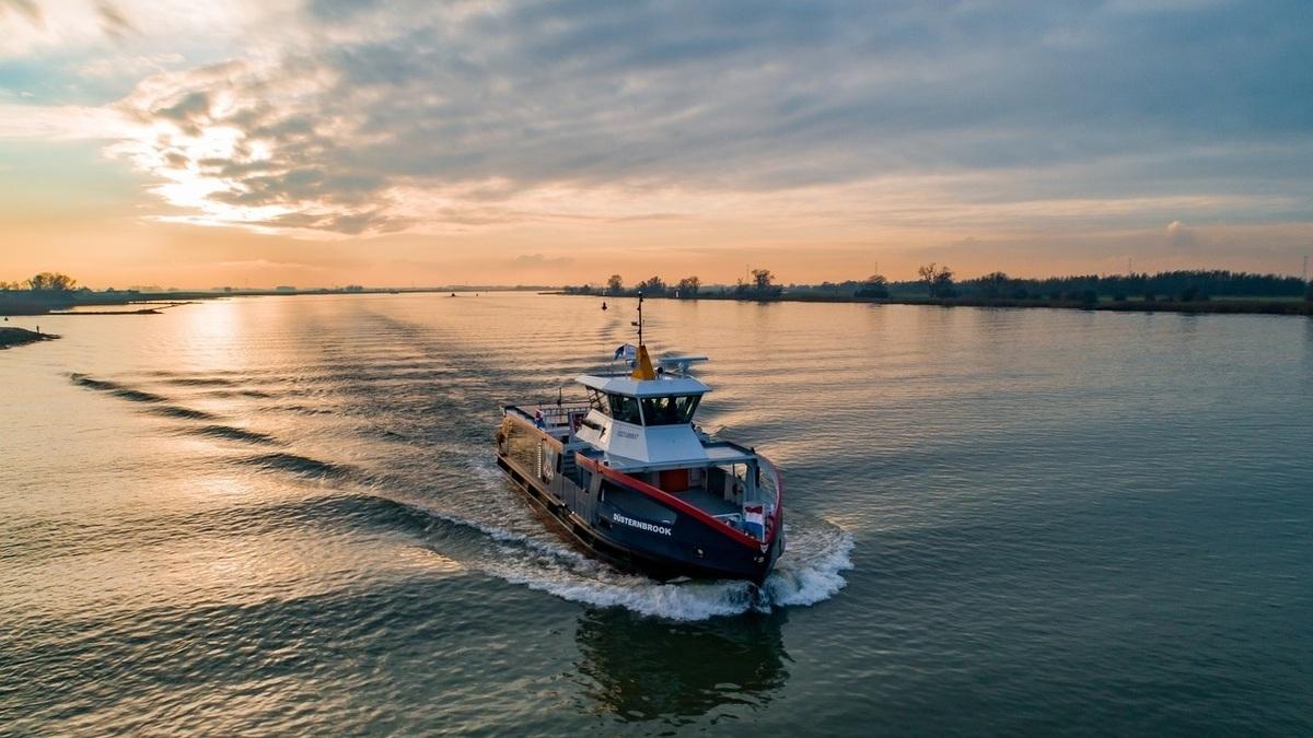 HSG-built Düsternbrook (source: Holland Shipyards Group)