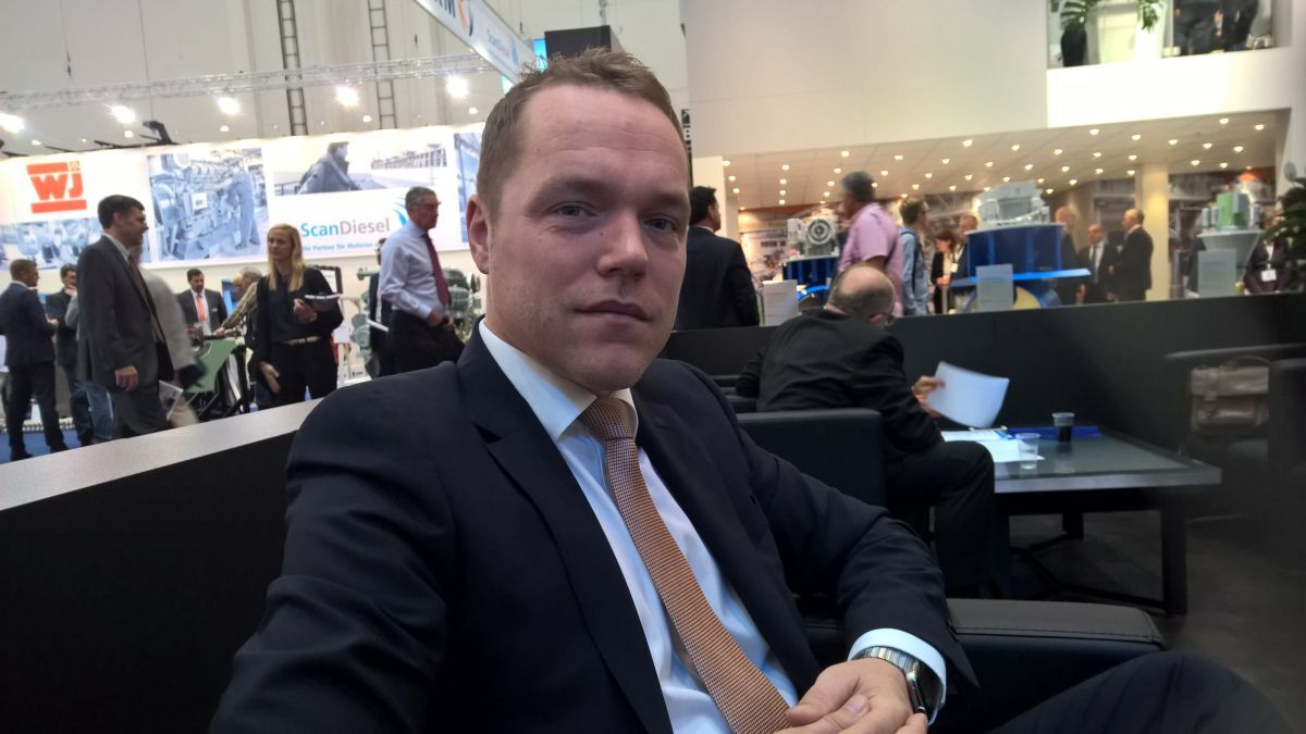 """Jonas Nyberg (Berg): """"We are going for the simplest possible solution. The propeller shaft is actually the electric motor"""" (source: Berg)"""