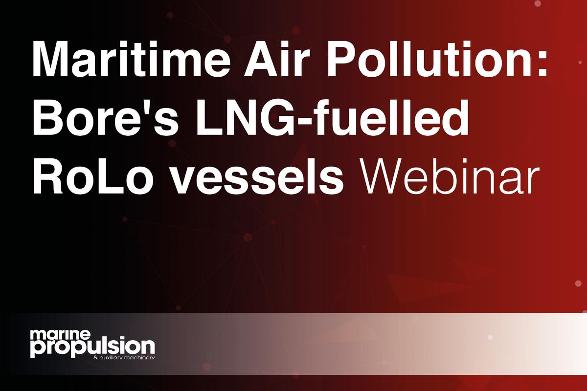 Maritime Air Pollution: Bore's LNG-fuelled RoLo vessels Webinar