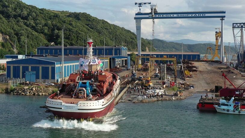 Kenyan salvage and port tug launched
