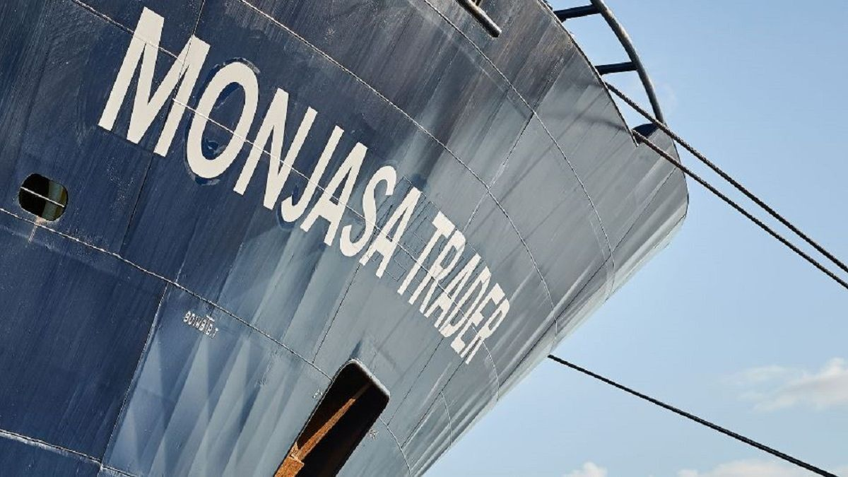 Seemingly over-qualified but a welcome addition to West Africa tanker operations (source: Monjasa)