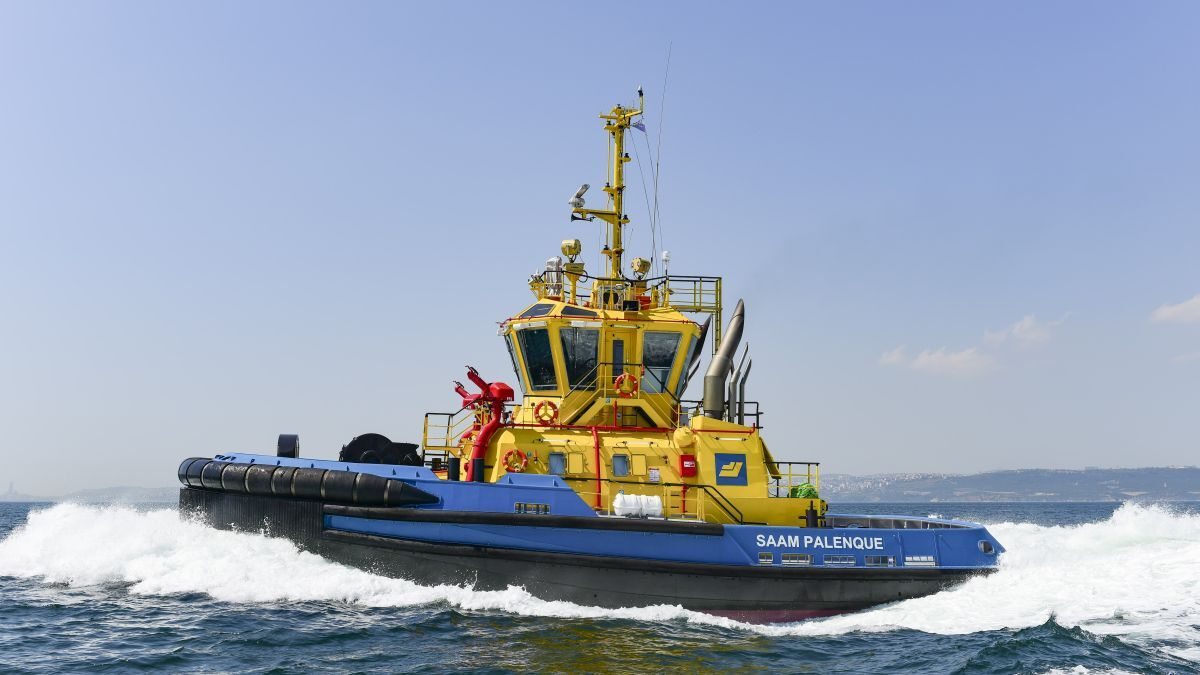 SAAM Palenque was purchased by SAAM Towage to work in Panama's terminals (source: Sanmar)