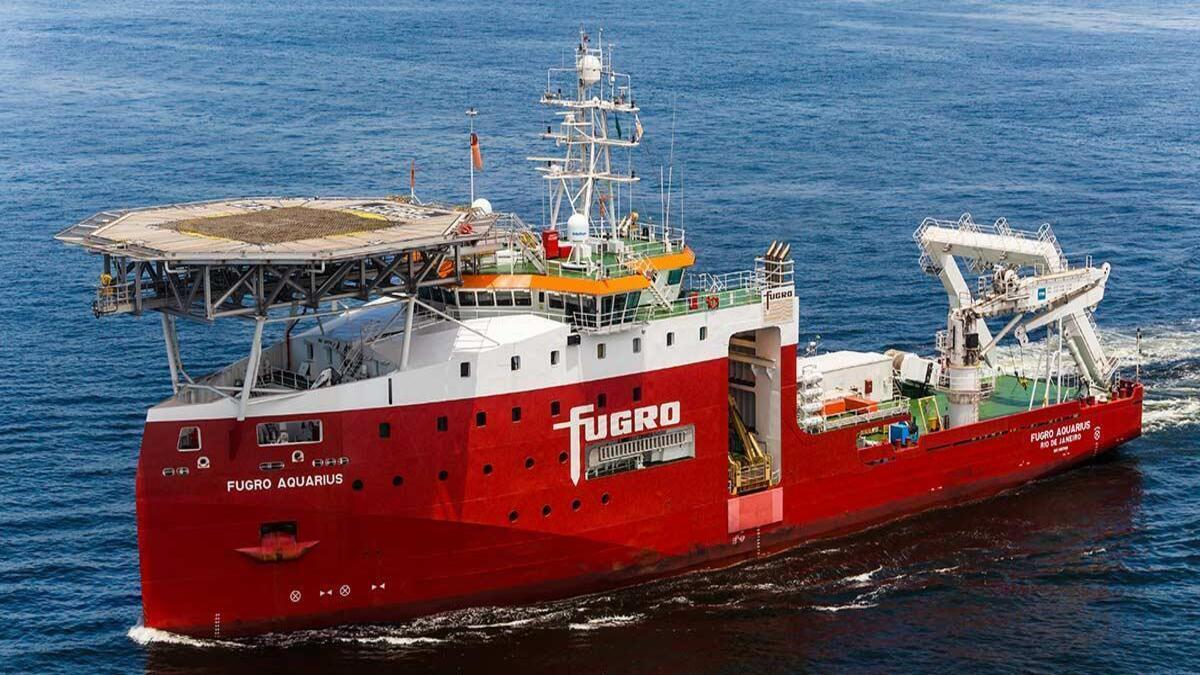 Fugro wins IRM contract with Petrobras