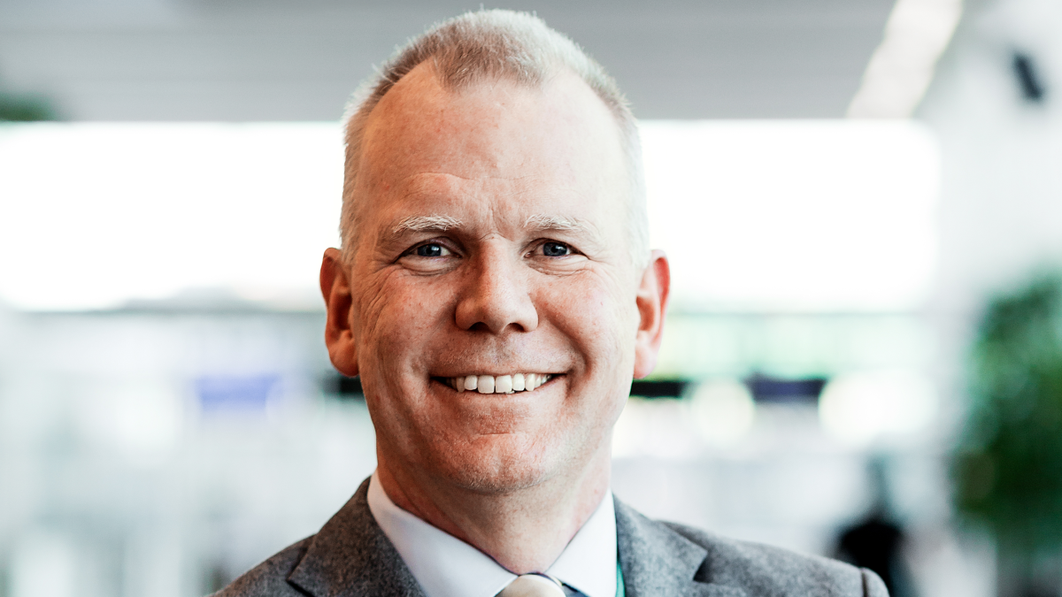 Carl-Johan Hagman (Stena): Decarbonisation 'is not a quick fix, and no single company can do it on its own' (source: Stena)