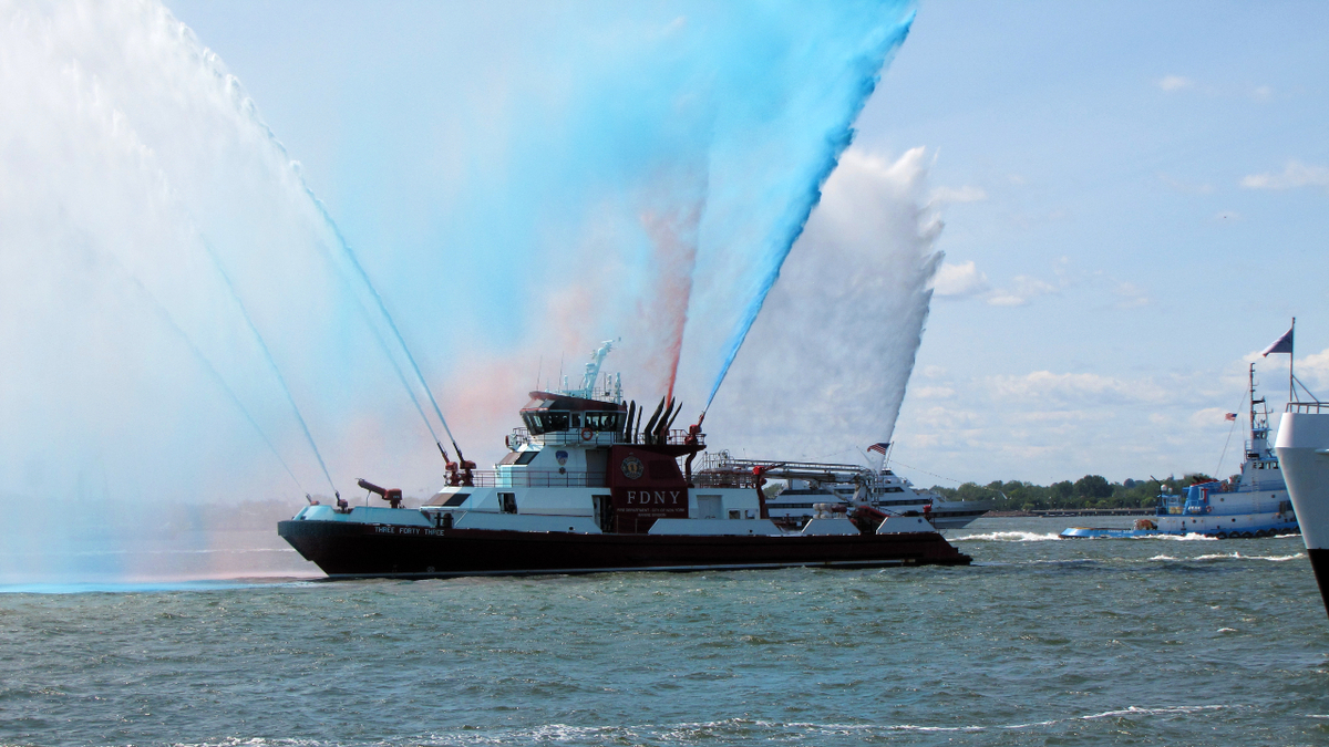 Ceremony honours 9/11 victims, mariners, largest boatlift in history