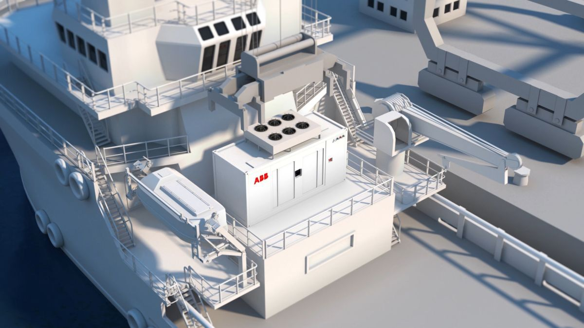 ABB's new Containerized Energy Storage (ESS) is one of several 'plug-and-play' solutions underpinning the uptake of battery solutions in the offshore sector (source: ABB)