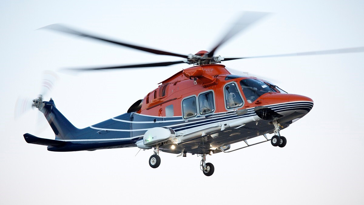 Green Helicopters supporting the Energy Industry