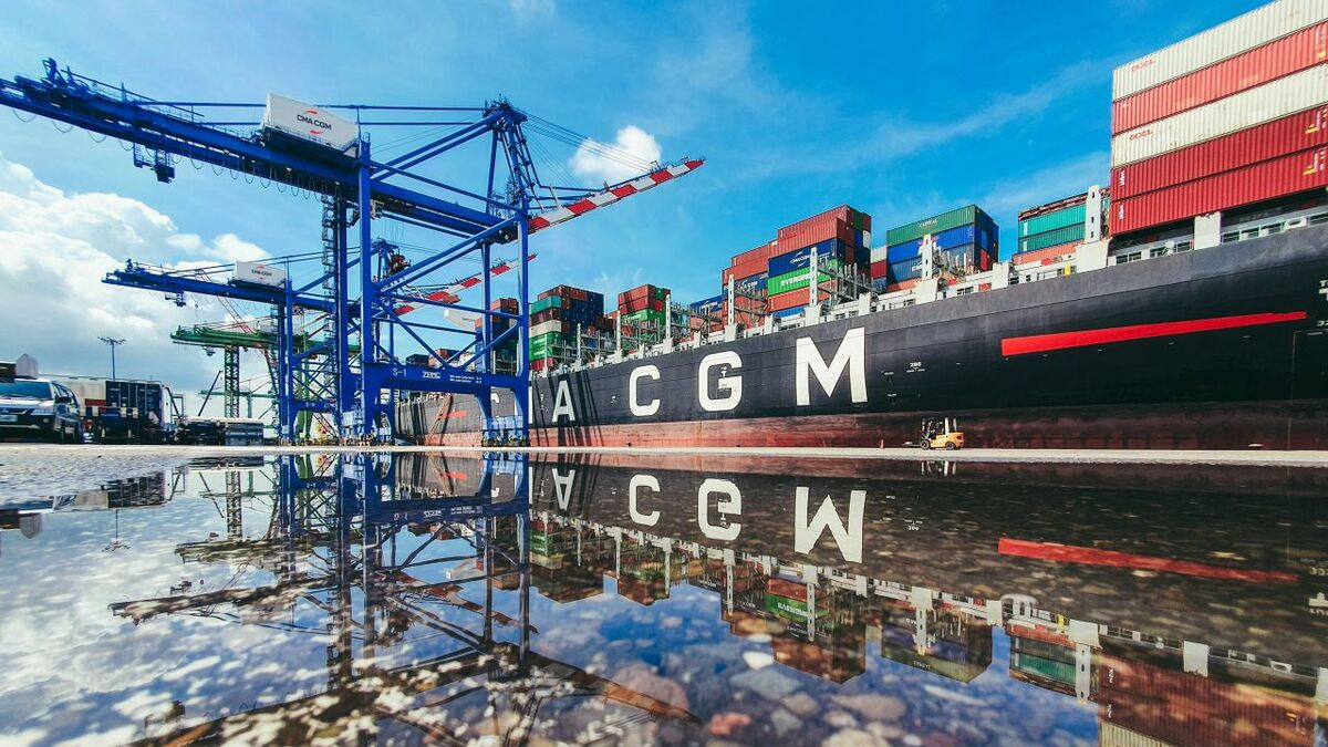 The group has decided to put any further increases in spot freight rates on hold (source: CMA CGM)