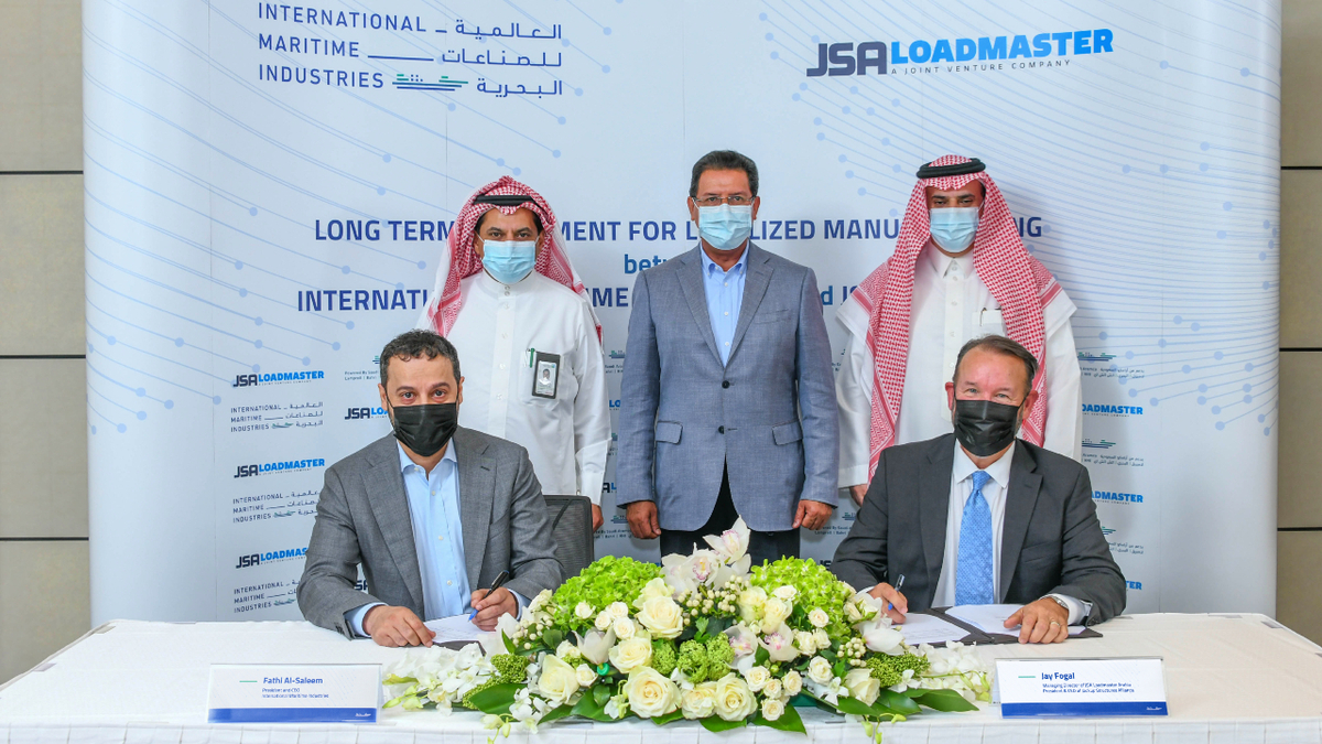 Deal would increase local content in rig fabrication at Saudi shipyard