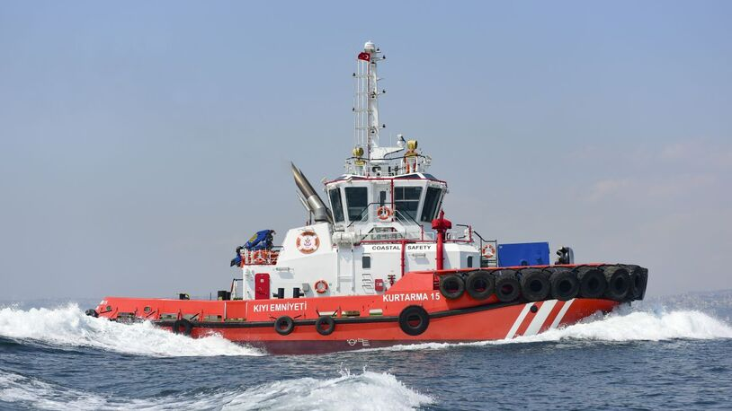 Turkey's most powerful escort tug delivered