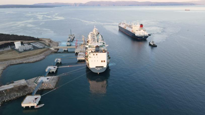 Croatian FSRU marks major supply milestone