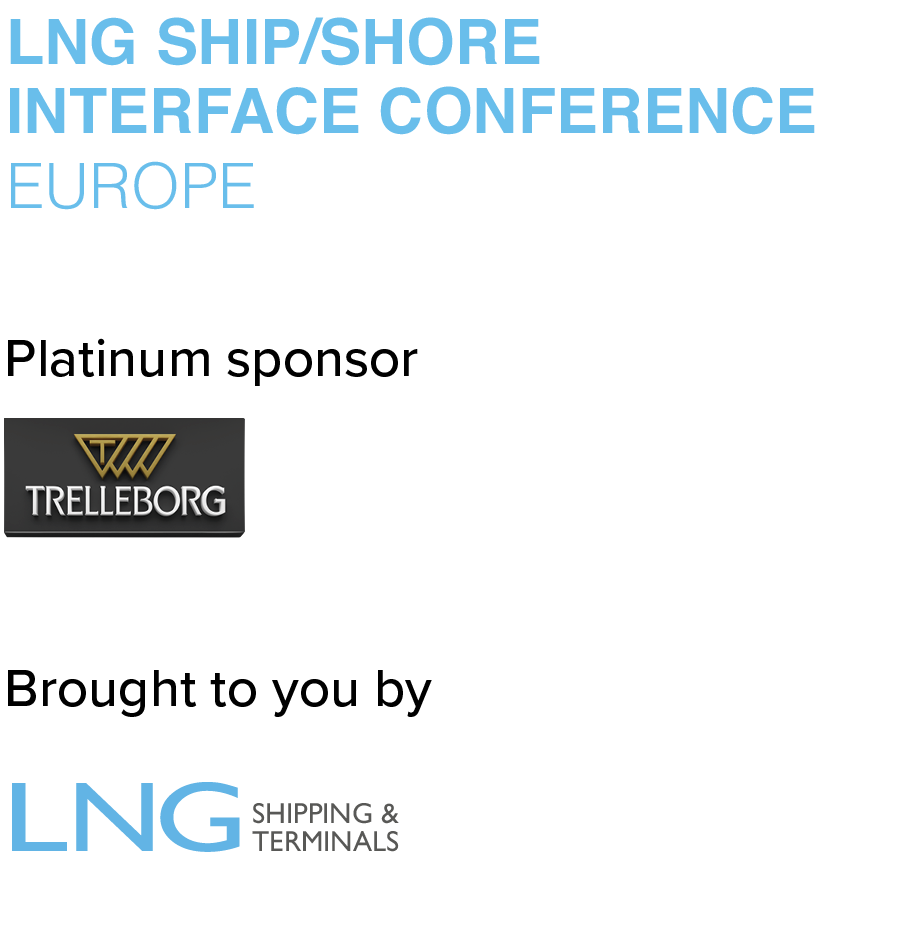 LNG Ship/Shore Interface Conference, Europe 2021