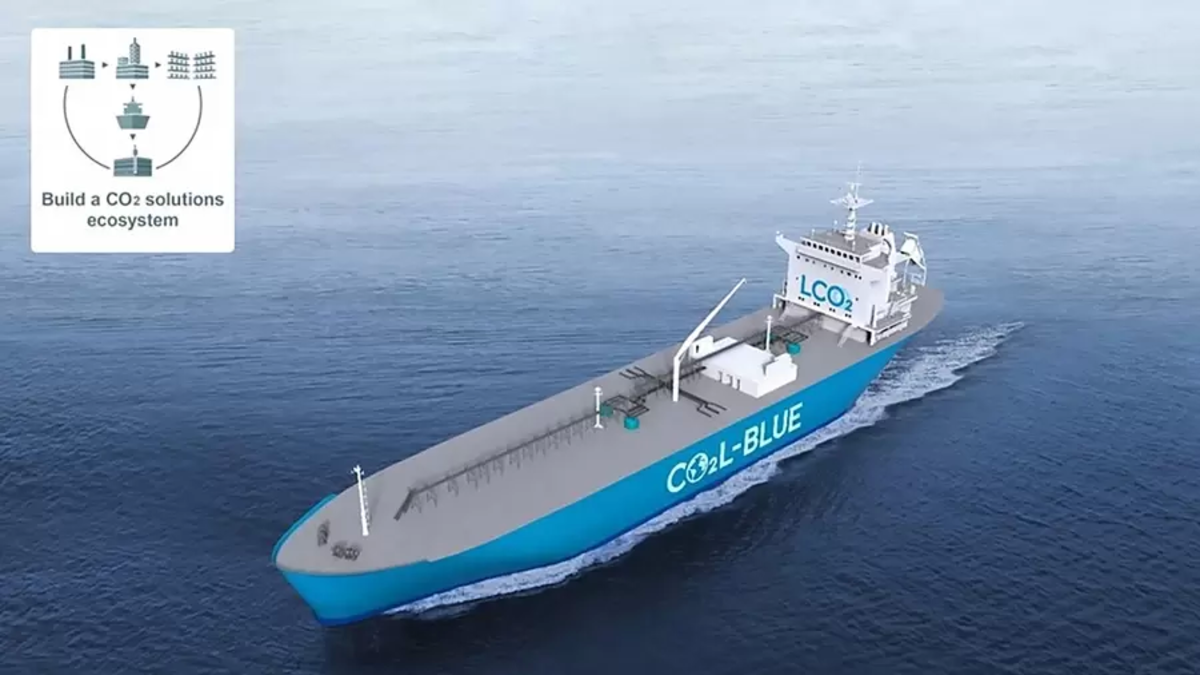 Mitsubishi and Total plan to develop LCO2 carrier