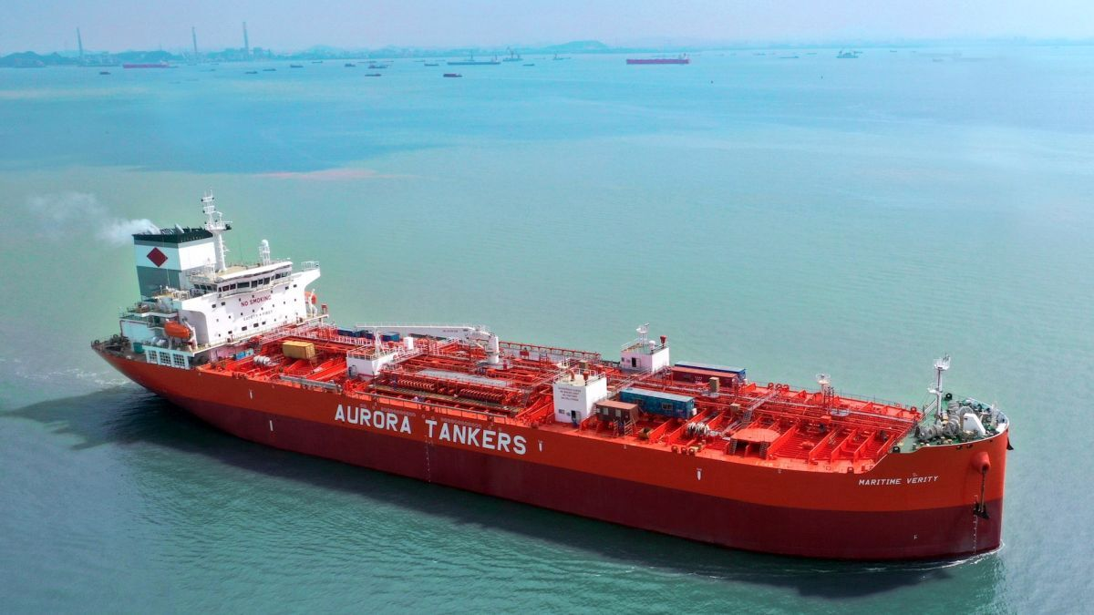 Maritime Verity: Marks the completion of an epic fleet renewal programme (source: Aurora)