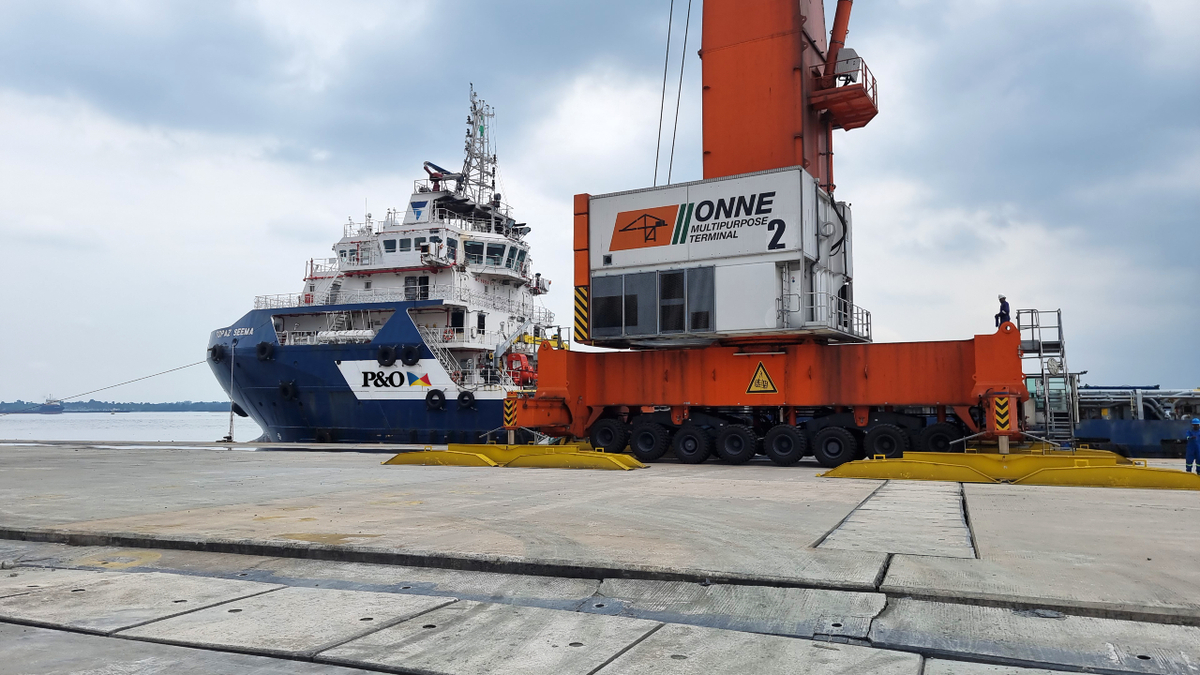 Nigerian offshore logistics solution uses freight rate model