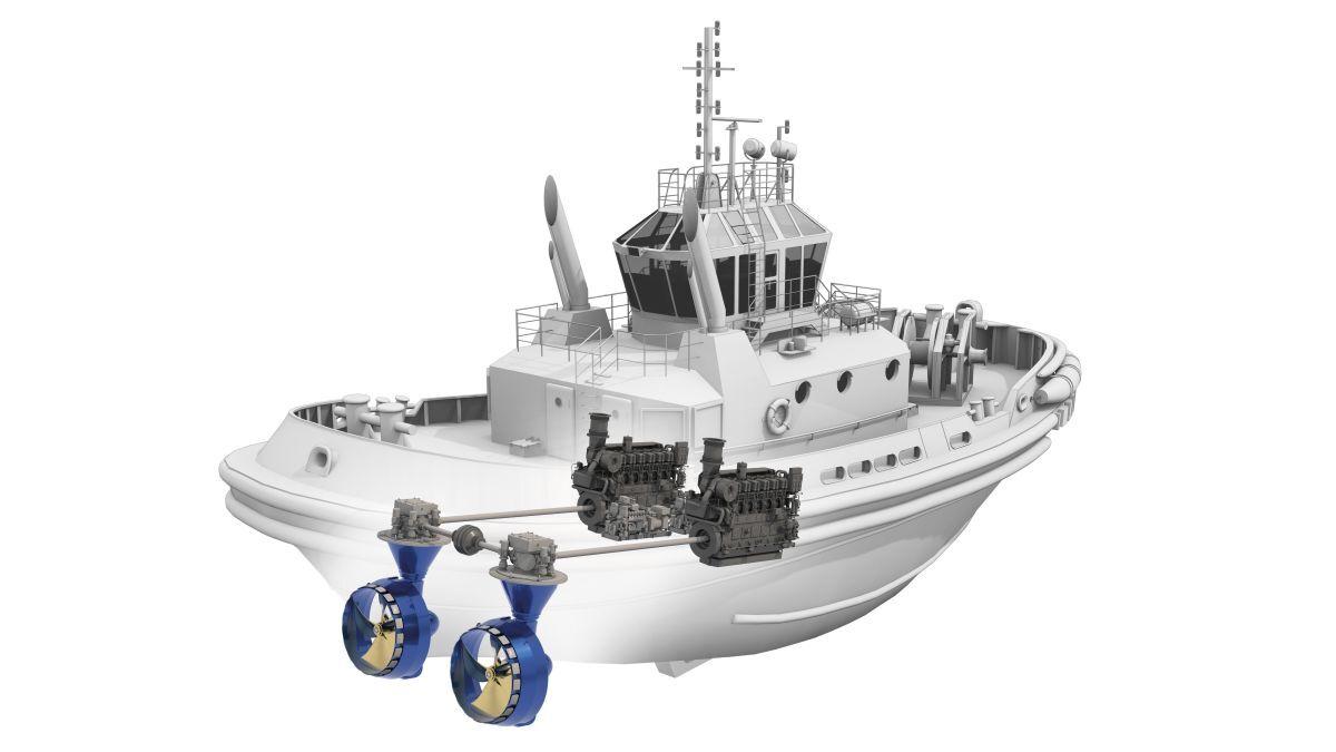 Schottel will supply thrusters to new Starnav escort tugs (source: Schottel)